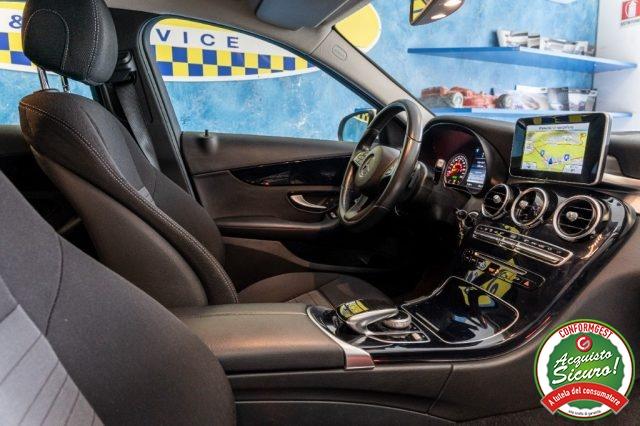 MERCEDES-BENZ C 220 CDI S.W. Automatica Sport Unico Proprietario Immagine 4