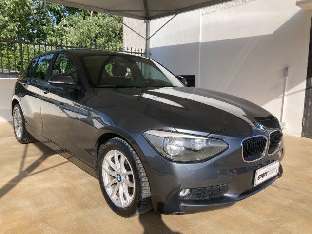 BMW 116 d 5p.AUTOMATICA TAGLIANDI 5P NAVIGATORE Immagine 4