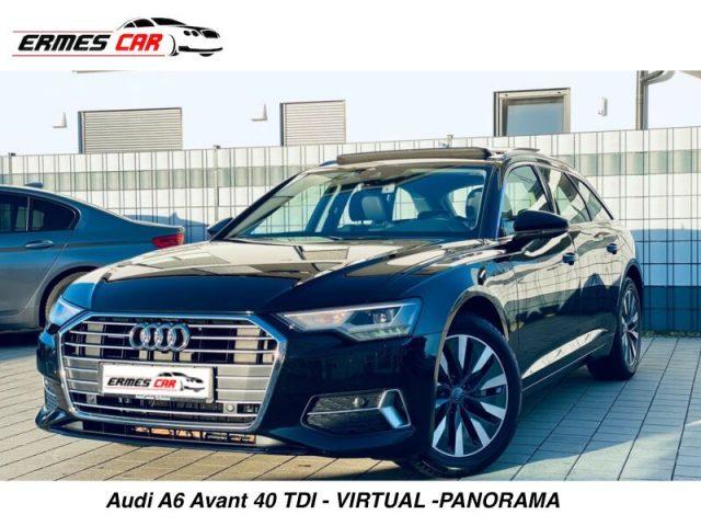 AUDI A6 Avant 40 2.0 TDI S tronic VIRTUAL-PANORAMA Immagine 0