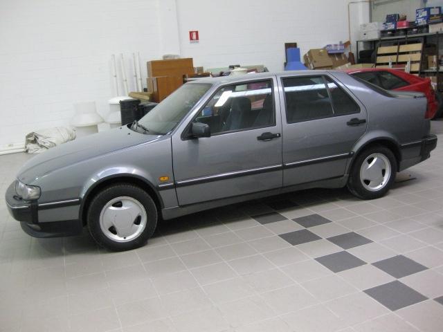 SAAB 9000 i turbo 16v CS cat 5 Porte Auto d'epoca CONSERVATA Immagine 1