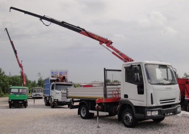 IVECO LKW/TRUCKS Eurocargo 75E15 con gru e ribaltabile Immagine 1