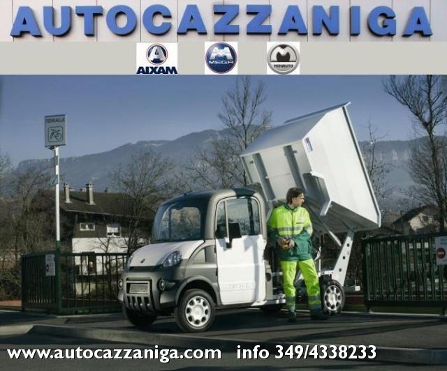 AIXAM Mega VASCA NETTEZZA URBANA 400 DIESEL PRONTA CONSEGNA Immagine 0