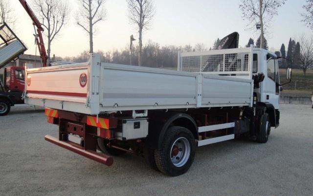 IVECO Eurocargo 120E23 con gru e ribaltabile Immagine 2