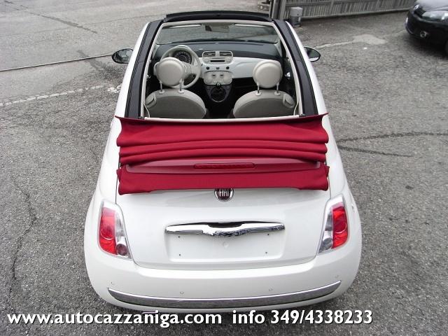 FIAT 500 C 1.2 LOUNGE CABRIO PRONTA CONSEGNA Immagine 1