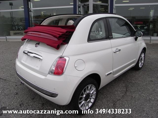FIAT 500 C 1.2 LOUNGE CABRIO PRONTA CONSEGNA Immagine 2