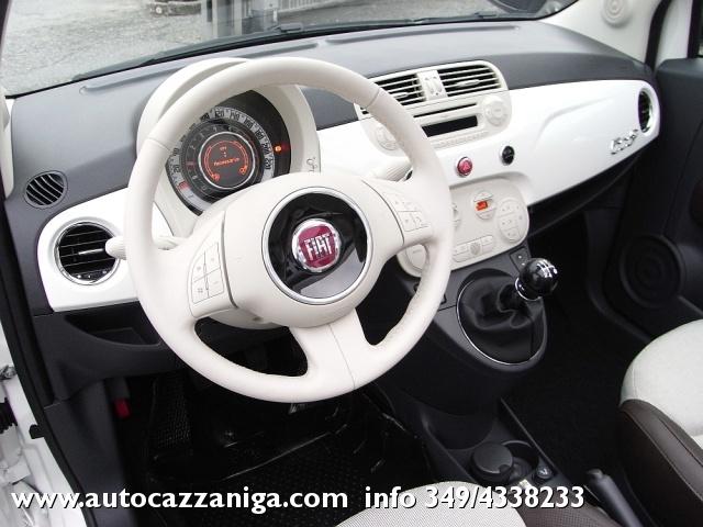FIAT 500 C 1.2 LOUNGE CABRIO PRONTA CONSEGNA Immagine 3