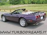 CHEVROLET Corvette C4 5.7 LT1 V8 CABRIO / CONVERTIBLE VIOLA STUPENDA!