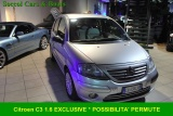 Citroen c3 usato 1.6 16v exclusive