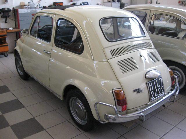 FIAT 500 L STORICA CONSERVATA ORIGINALE Immagine 4