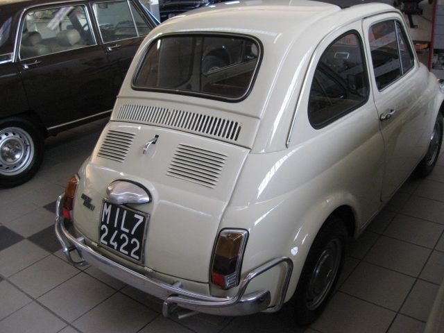 068d0a67af Auto d'epoca Milano - Scheda tecnica FIAT 500 L STORICA CONSERVATA ...