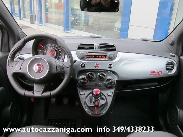 FIAT 500 1.2 S NUOVO COLORE NERO OPACO IN PRONTA CONSEGNA Immagine 2