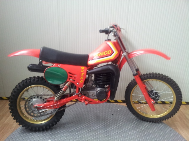 MAICO GS-MC 250 Red metallized