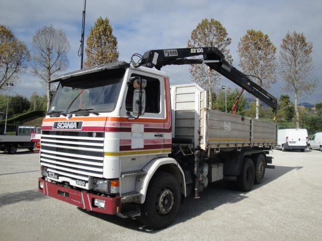 SCANIA Other 113 H 360 CV 6X2 RIB. CON GRU
