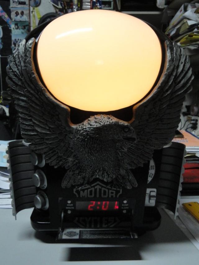 HARLEY-DAVIDSON Other HD ORIGINALE Abat-Jour + orologio + sveglia Immagine 1