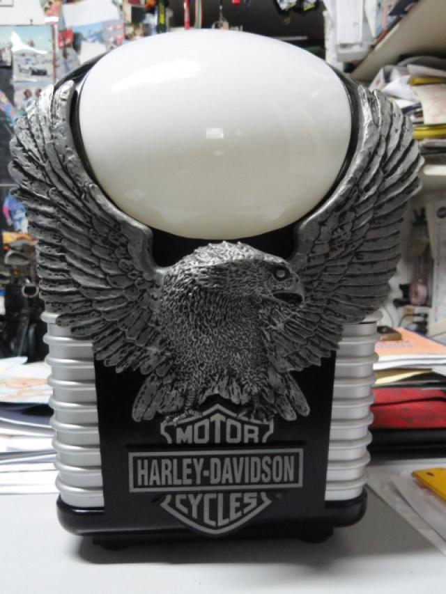 HARLEY-DAVIDSON Other HD ORIGINALE Abat-Jour + orologio + sveglia Immagine 2