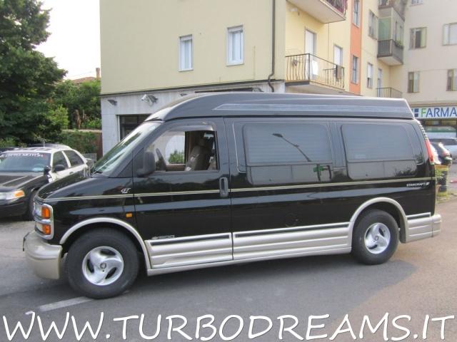 CHEVROLET Chevy Van EXPRESS STARCRAFT GT LTD 5.7 V8 HIGH TOP PELLE TV Immagine 2