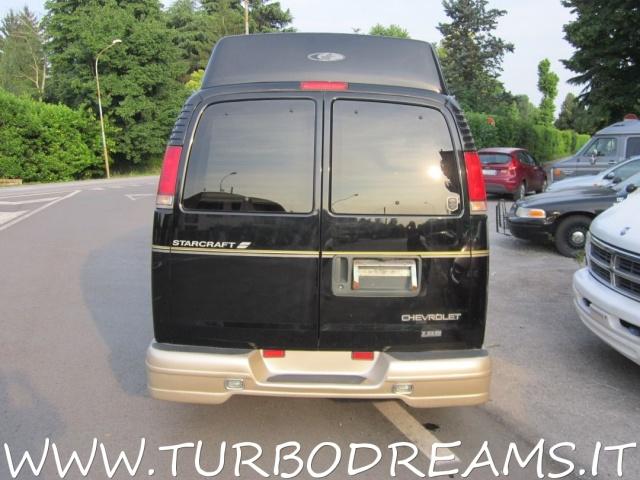 CHEVROLET Chevy Van EXPRESS STARCRAFT GT LTD 5.7 V8 HIGH TOP PELLE TV Immagine 4