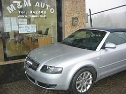 AUDI A4 2,5 TDI V6 163CV  CABRIO  !!!!!! Immagine 1