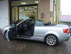 AUDI A4 2,5 TDI V6 163CV  CABRIO  !!!!!! Immagine 2