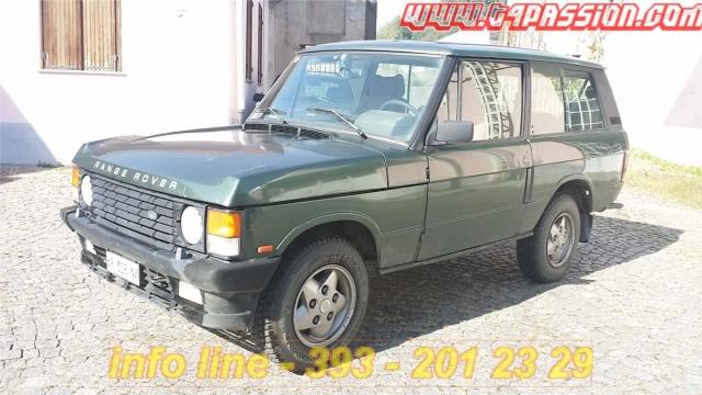 LAND ROVER Range Rover 200 Tdi 3 porte -Gancio Traino  PERMUTE Immagine 1