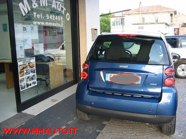 SMART ForTwo 1000 52 kW MHD coupé passion!!!! Immagine 3