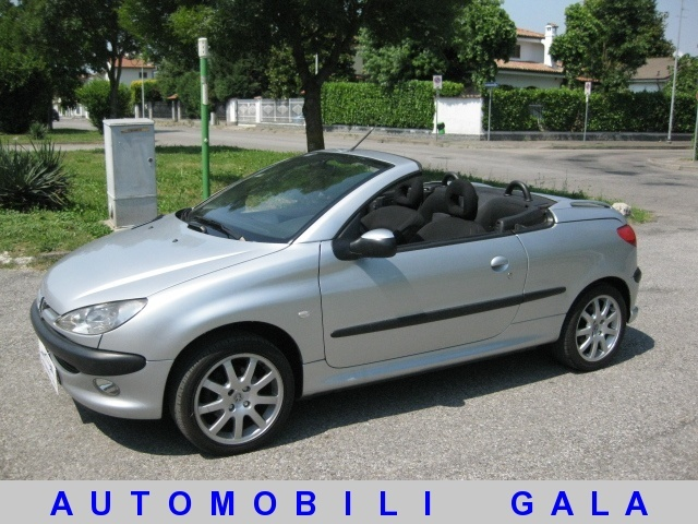 PEUGEOT 206 1.6 16v CC Enfant Terrible EURO 3