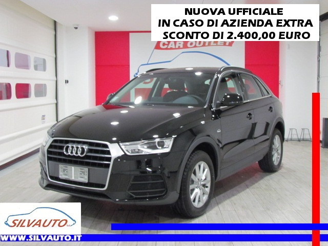 AUDI Q3 NEW 2.0 TDI BUSINESS S-TRONIC MY '17 EU6 150CV Immagine 0