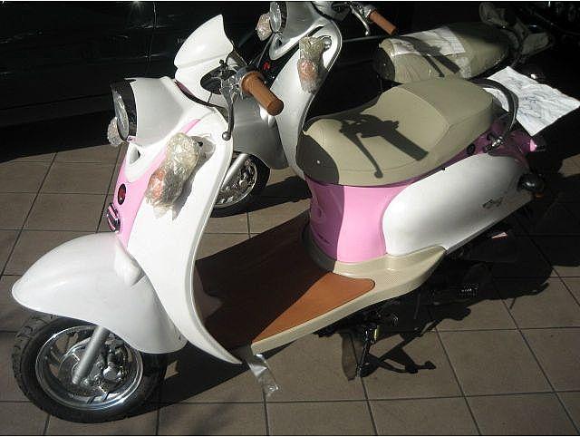 MOTOS-BIKES Gilera scooter garelli mod capri nuovi  50 4 tempi Immagine 1