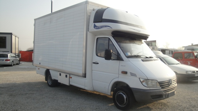 MERCEDES-BENZ Sprinter 416 CDI Furgone Lega con Mansarda Immagine 1