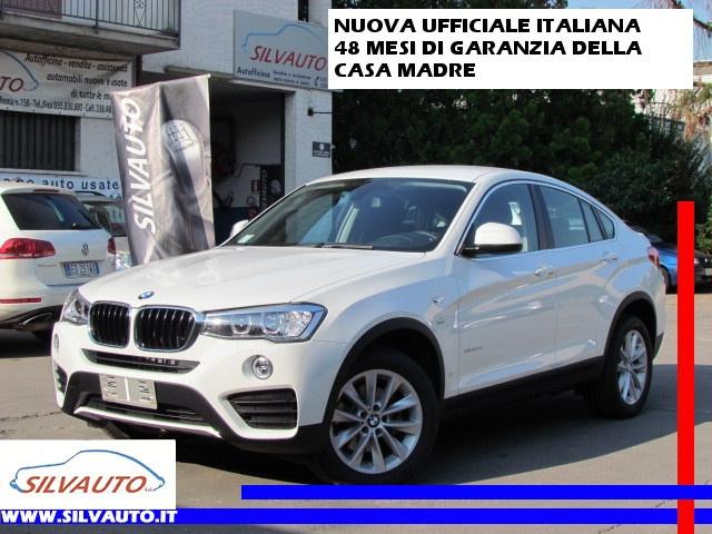 BMW X4 xDrive20d 190CV EURO 6 CAMBIO AUTOMATICO Immagine 0