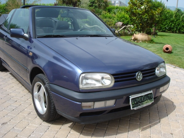 OLDTIMER Volkswagen GOLF CABRIO KARMAN *** CABRIO CON 4 POSTI *** Immagine 2