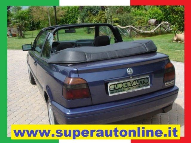 OLDTIMER Volkswagen GOLF CABRIO KARMAN *** CABRIO CON 4 POSTI *** Immagine 0