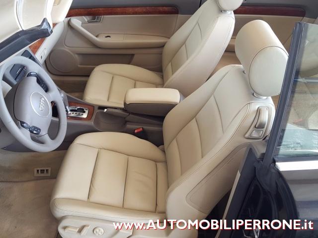 AUDI A4 Cabriolet 1.8 T Multitronic (Navi-Pelle-Xeno) Immagine 4