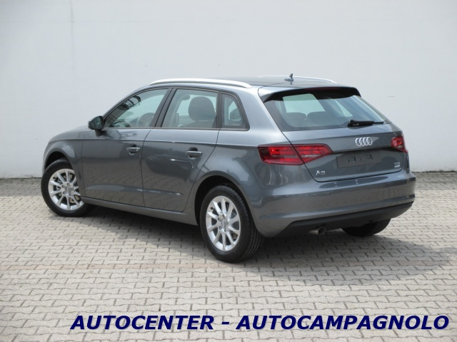 AUDI A3 SPB 1.6 TDI clean diesel S tronic Attraction Immagine 2
