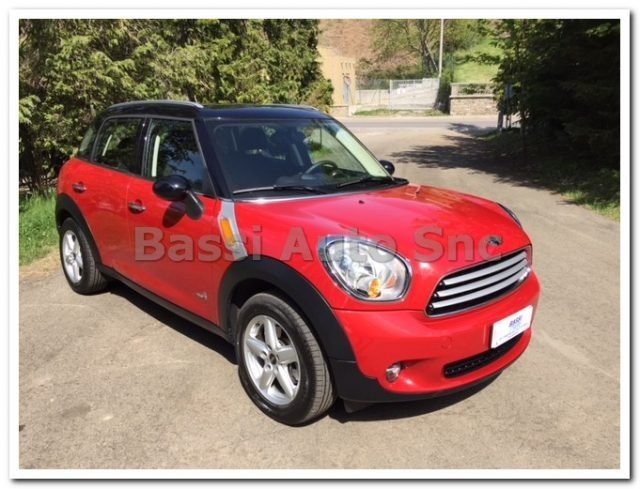 MINI Countryman Red pastel