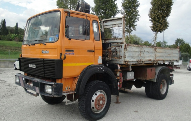 IVECO Other 110.17 4x4 con Gru e cassone ribaltabile