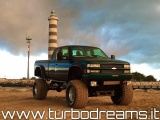 "CHEVROLET Silverado 5.7 V8 EXT.CAB MONSTER TRUCK OMOLOGATO 39"" LIFT !!"