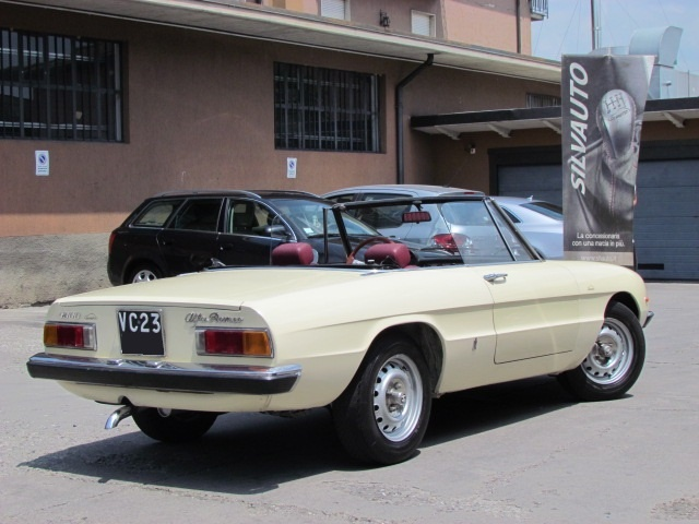 ALFA ROMEO Spider 1300 JUNIOR CODA TRONCA TIPO 105.91 CON HARD TOP Immagine 1