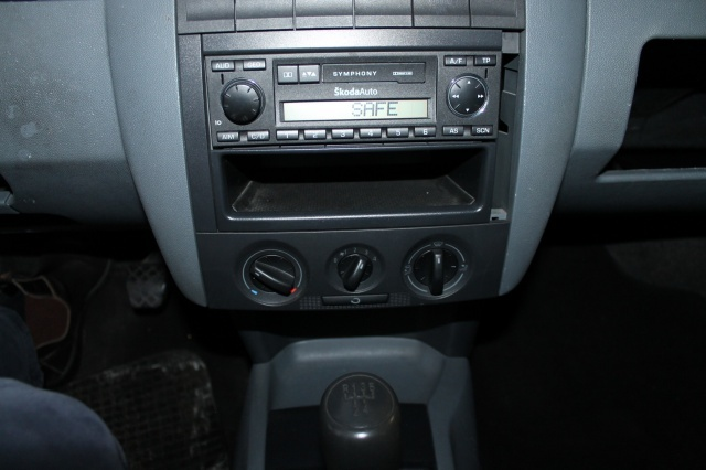 SKODA Fabia 1.9 SDI Wagon Van AUTOCARRO 2 POSTI AUTORADIO Immagine 4
