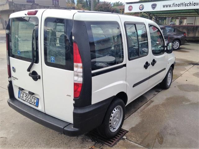 FIAT Doblo Doblò 1.9 JTD 5 posti autocarro Motore km 200.000 Immagine 3