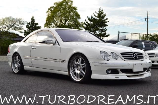 MERCEDES-BENZ CL 500 cat BRABUS ONLY ONE OWNER 62.000KM TOP ZUSTAND !!! Immagine 3