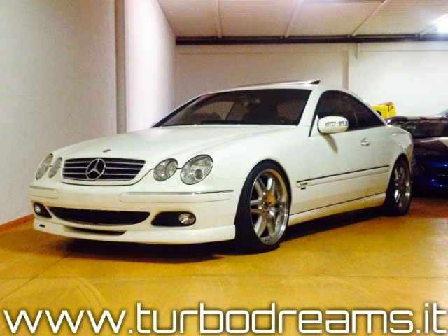 MERCEDES-BENZ CL 500 cat BRABUS ONLY ONE OWNER 62.000KM TOP ZUSTAND !!! Immagine 1