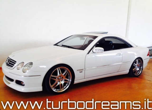 MERCEDES-BENZ CL 500 cat BRABUS ONLY ONE OWNER 62.000KM TOP ZUSTAND !!! Immagine 2