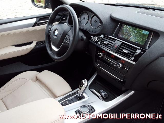 BMW X4 xDrive20d xLine (C.Autom.-Navi-Pelle) Immagine 3