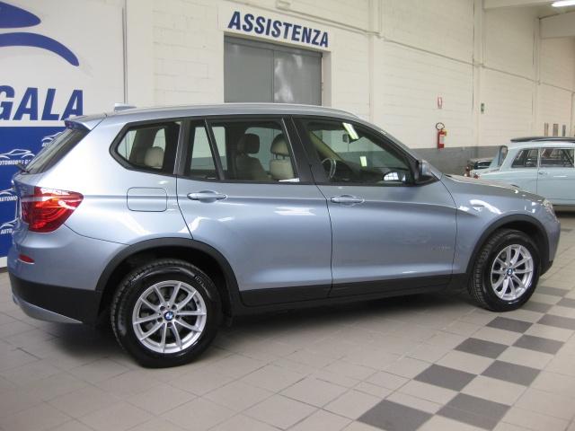 BMW X3 xDrive 20d Eletta 4X4 STEPTRONIC FAP EURO 5/B Immagine 3
