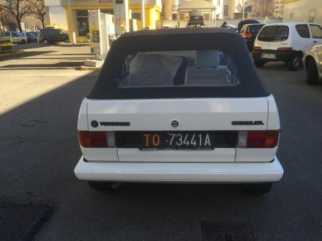 VOLKSWAGEN Golf Cabriolet 1600 GL Immagine 4