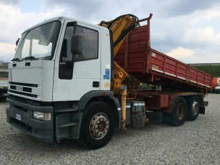 IVECO Other 190E27 3 ASSI GRU + RIBALTABILE