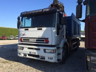 IVECO Other EUROTEC MP240E42 GRU+RIBALTABILE