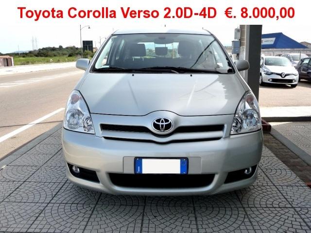 TOYOTA Corolla Verso 2.0 16V D-4D Sol a solo ?. 8000,00 Immagine 1