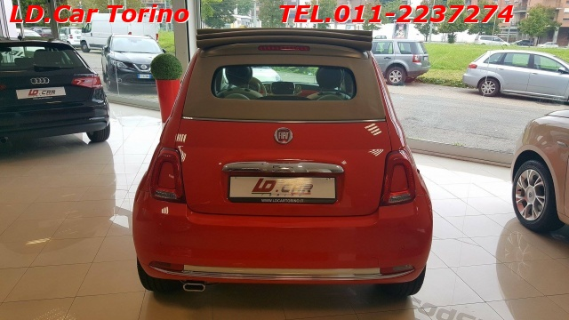 FIAT 500C 1.2 Lounge dualogic *1° TAGLIANDO OMAGGIO* Immagine 3